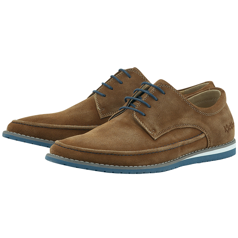 Kickers - Kickers KIC558820-60 - ΤΑΜΠΑ ανδρικα   loafers   με κορδόνι