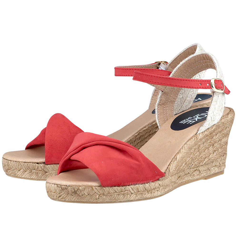 Koke Shoes  KO13198 ΚΟΚΚΙΝΟ