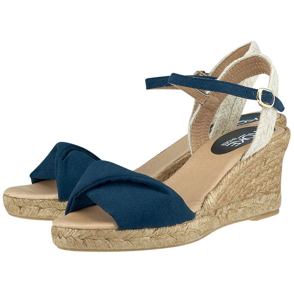 Koke Shoes  KO13198 ΜΠΛΕ ΣΚΟΥΡΟ