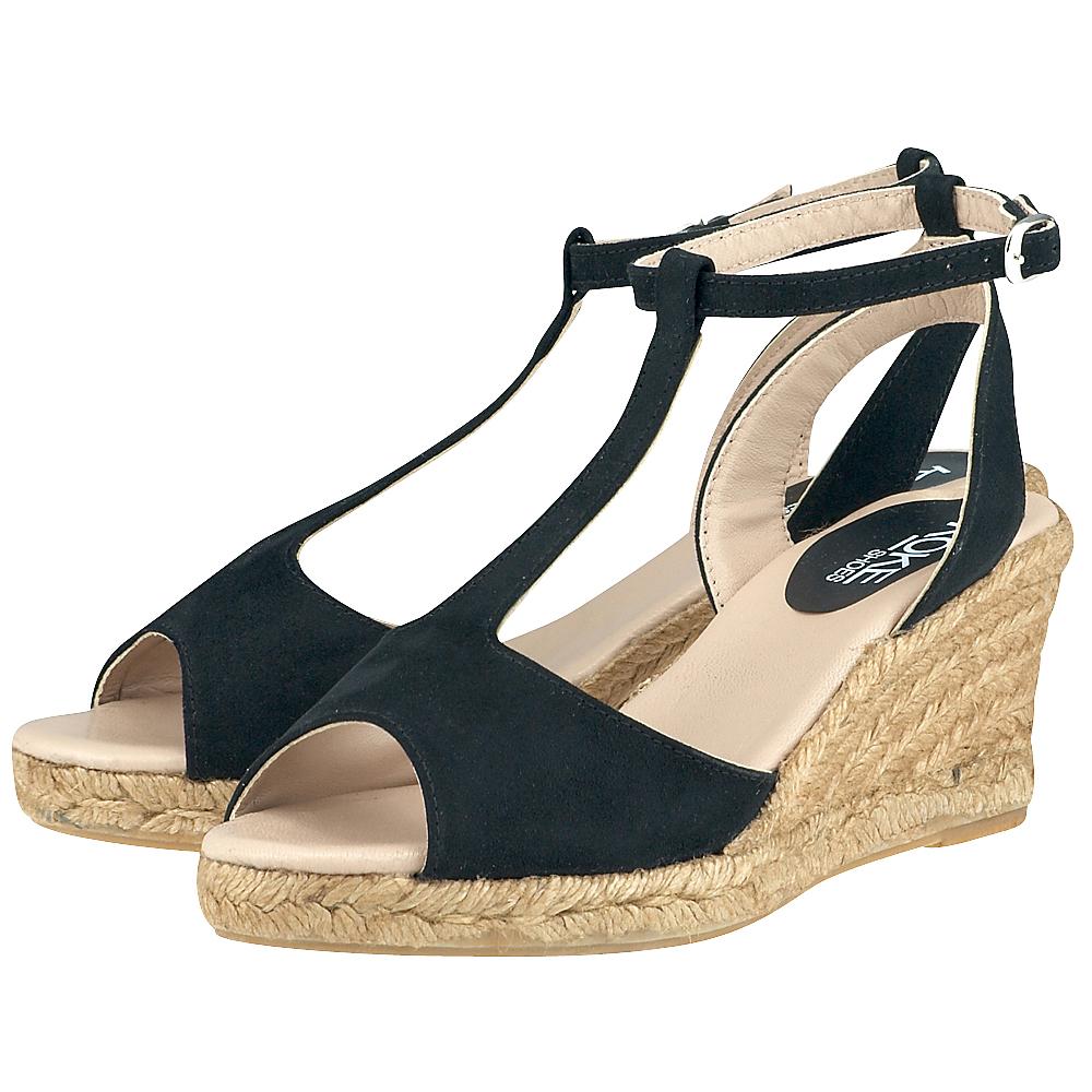 Koke Shoes  KO1451  ΜΑΥΡΟ