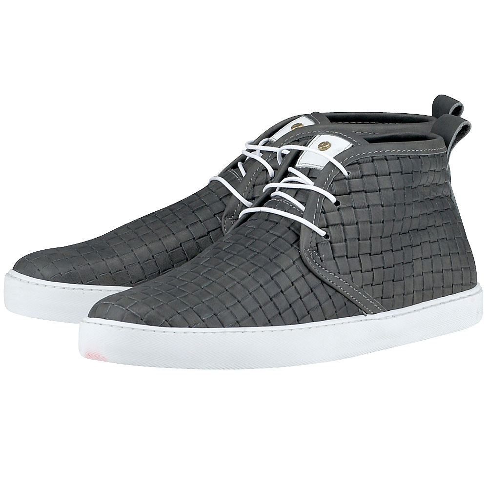 Coxx Borba - Coxx Borba MESQUILO610 - ΓΚΡΙ ΣΚΟΥΡΟ outlet   ανδρικα   sneakers   mid cut