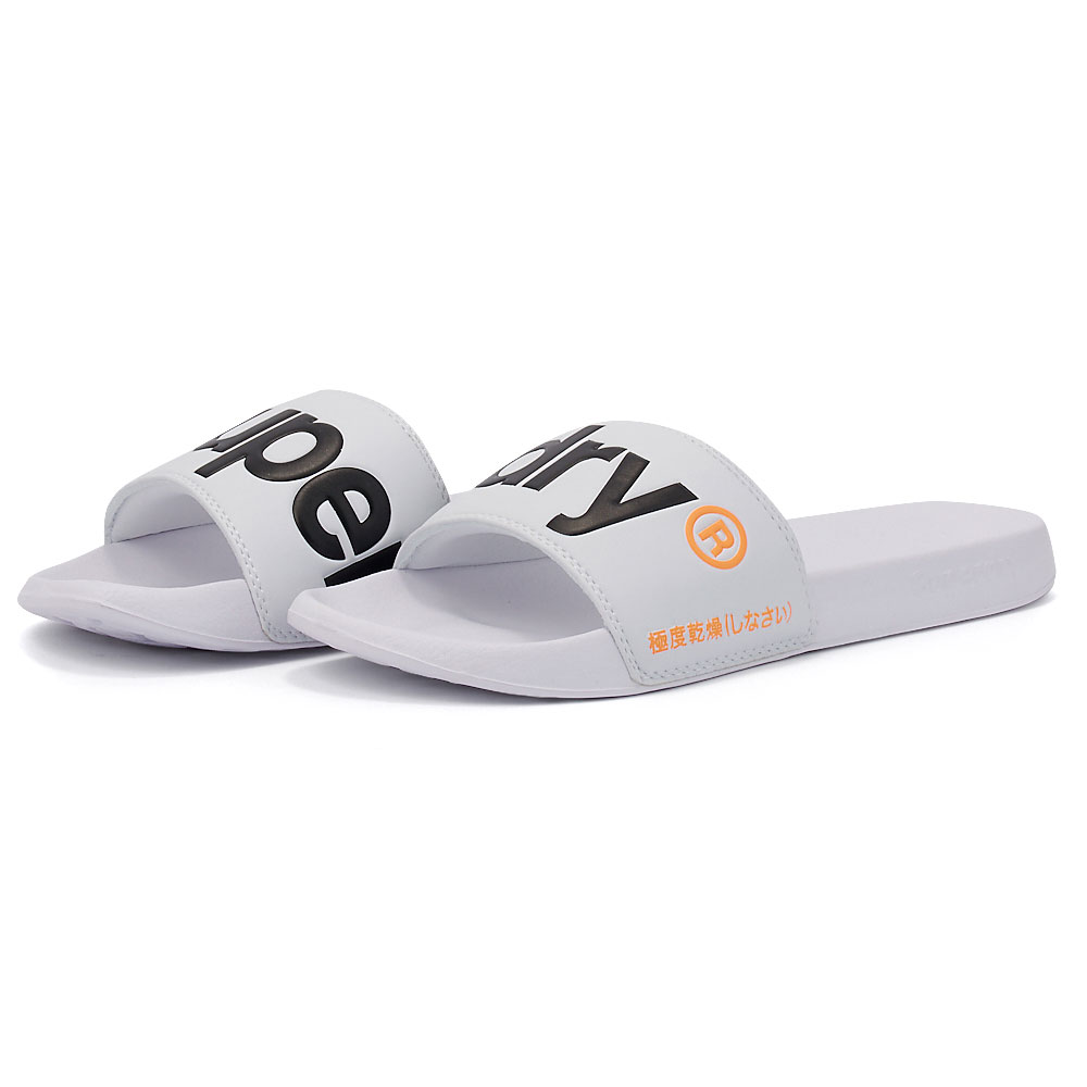Superdry - Superdry D1 Classic Superdry Pool Slide MF310008A-01C - 00287