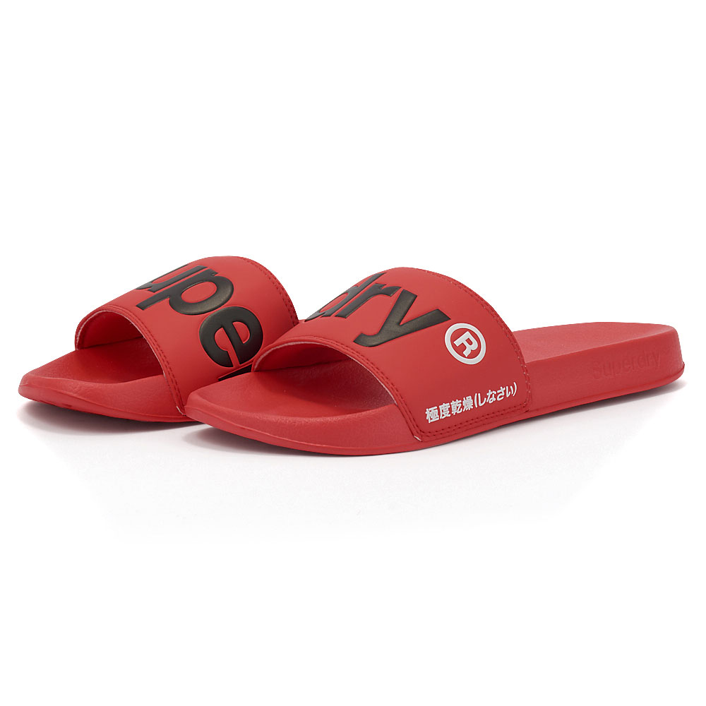 Superdry - Superdry D1 Classic Superdry Pool Slide MF310008A-OMG - 00198