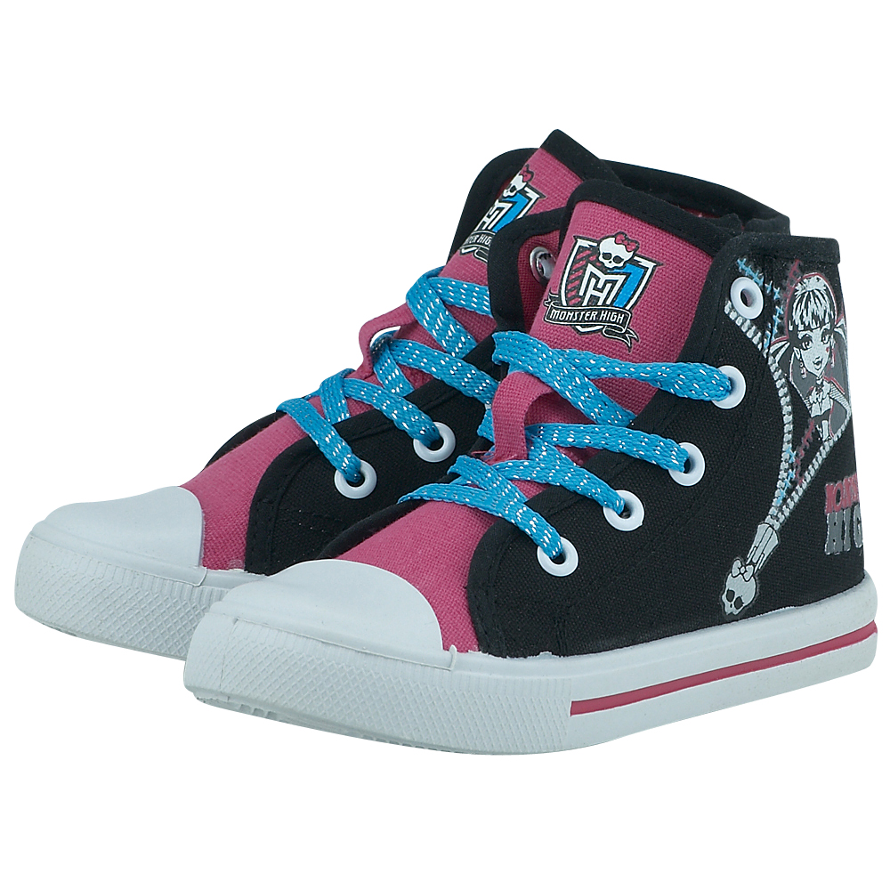 Monster High - Monster High MO000513 - ΜΑΥΡΟ/ΦΟΥΞΙΑ