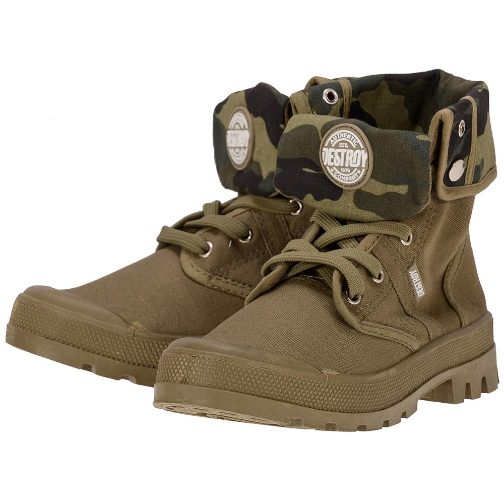 Destroy - Destroy OD500404 - ΧΑΚΙ outlet   γυναικεια   sneakers   mid cut