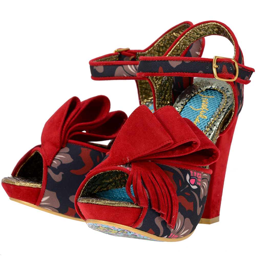 Irregular Choice – Irregular Choice PERFECT_JOY – ΚΟΚΚΙΝΟ