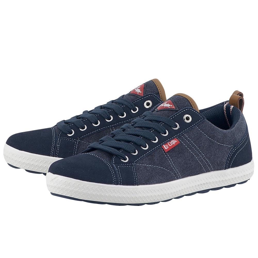 Lee Cooper - Lee Cooper Oxford PJPL1103T. - ΜΠΛΕ ΣΚΟΥΡΟ