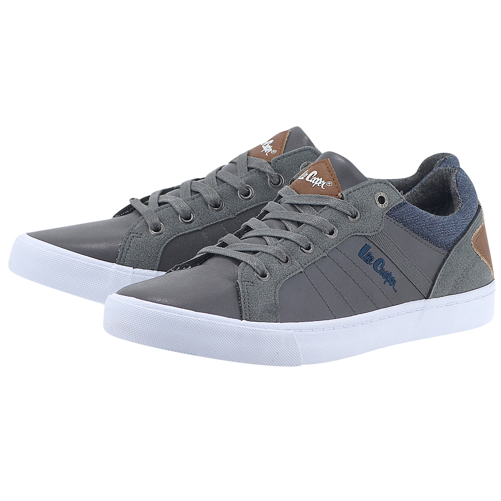Lee Cooper – Lee Cooper Mayfair PJPL1205S – ΓΚΡΙ ΣΚΟΥΡΟ