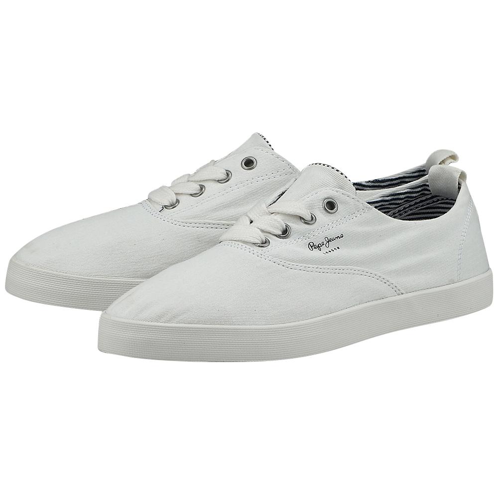 Pepe Jeans - Pepe Jeans Julia PLS30517 - ΛΕΥΚΟ γυναικεια   sneakers