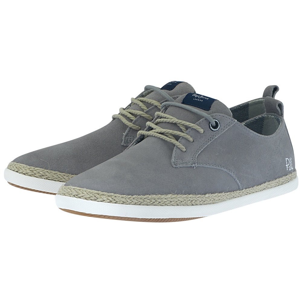Pepe Jeans – Pepe Jeans Maui Laces Suede PMS10225-945 – ΓΚΡΙ