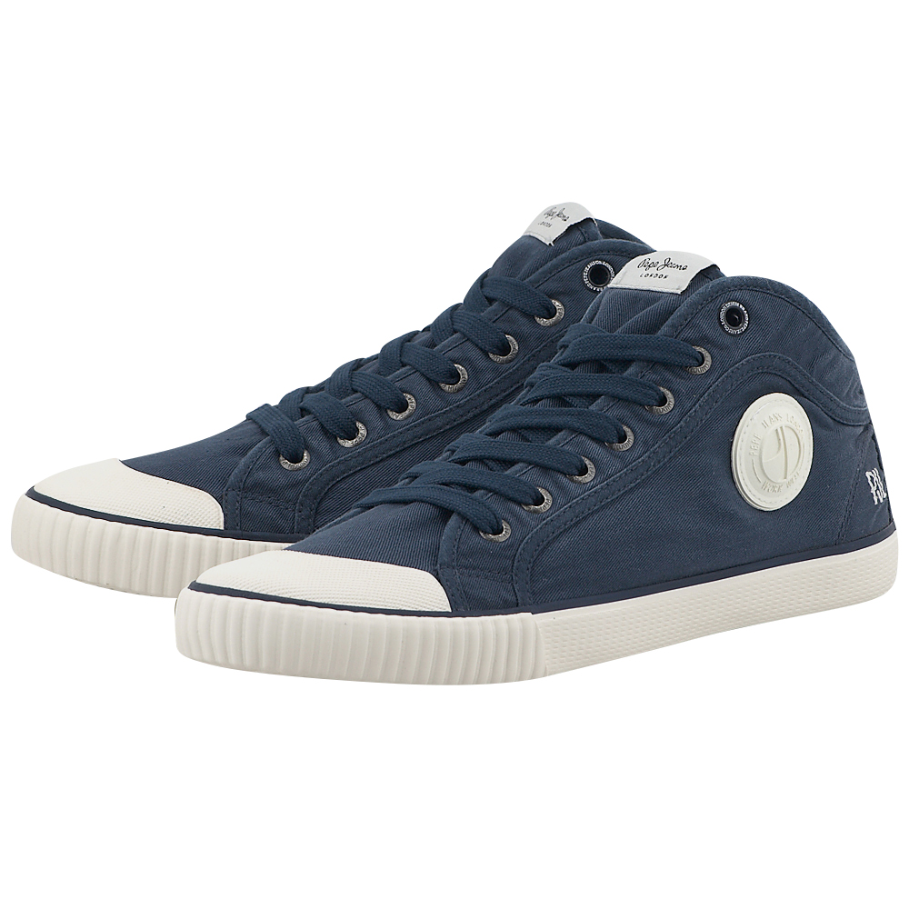 Pepe Jeans - Pepe Jeans Industry PMS30335 - ΜΠΛΕ ΣΚΟΥΡΟ ανδρικα   casual   low cut