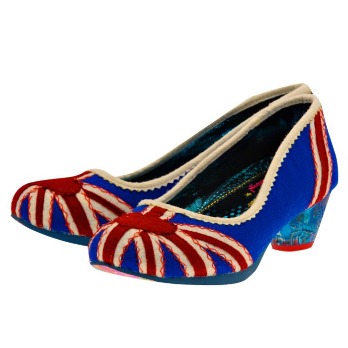 Irregular Choice – Irregular Choice POSIE.. – ΜΠΛΕ/ΚΟΚΚΙΝΟ