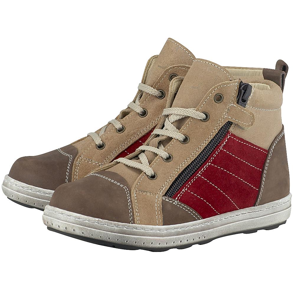Petit Shoes - Petit Shoes PS-FP71 - ΜΠΕΖ/ΚΑΦΕ