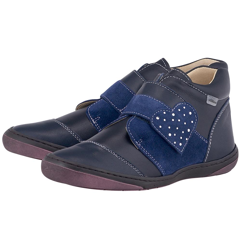 Petit Shoes - Petit Shoes PS-SB7 - ΜΑΥΡΟ/ΜΠΛΕ