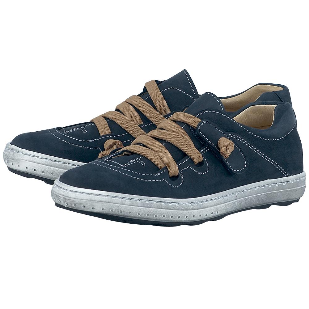 Petit Shoes - Petit Shoes PS-SBZ14 - ΜΠΛΕ ΣΚΟΥΡΟ