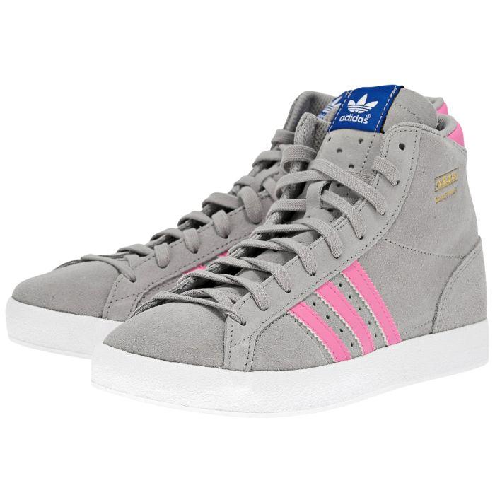 8bd19a8079c adidas Basket Profi γκρι/ροζ Q35029-3 | MYSHOE.GR