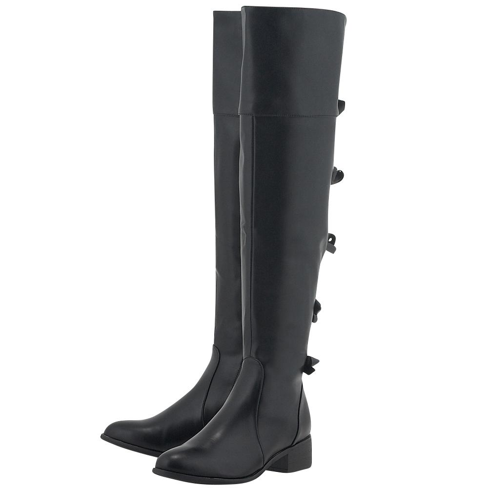 Louvel - Louvel R568-D1015 - ΜΑΥΡΟ outlet   γυναικεια   μπότες   dress