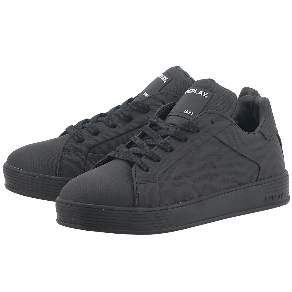 Replay - Replay RZ970002S - ΜΑΥΡΟ ανδρικα   sneakers