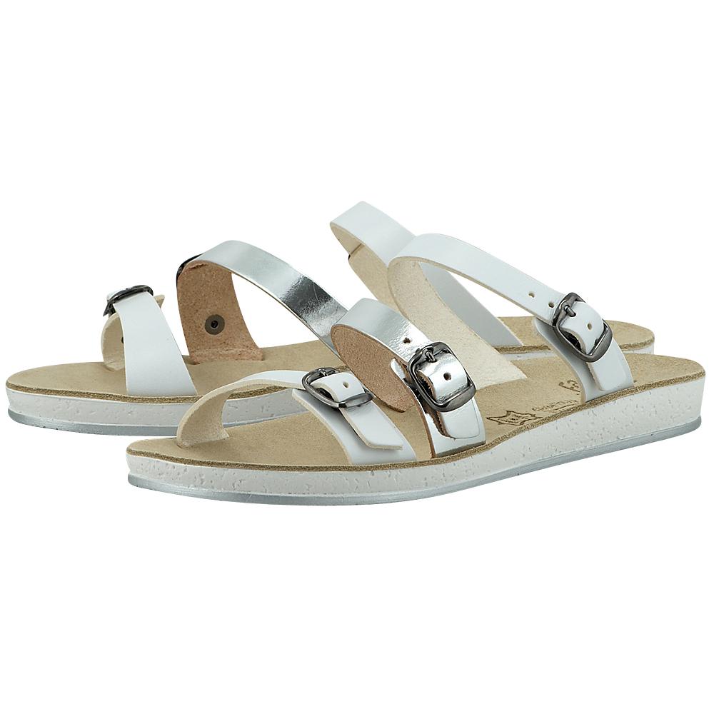 Fantasy Sandals – Fantasy Sandals S-1015 – ΛΕΥΚΟ/ΑΣΗΜΙ