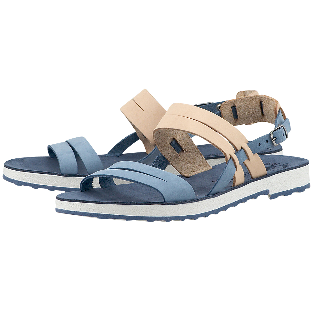 Fantasy Sandals - Fantasy Sandals S-4003 - ΣΙΕΛ/ΦΥΣΙΚΟ