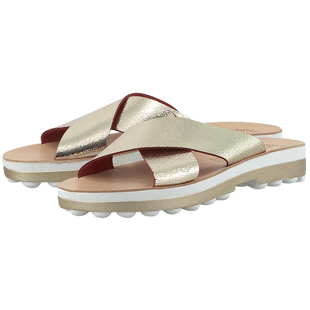 Fantasy Sandals - Fantasy Sandals S-9008 - ΧΡΥΣΟ γυναικεια   σανδάλια