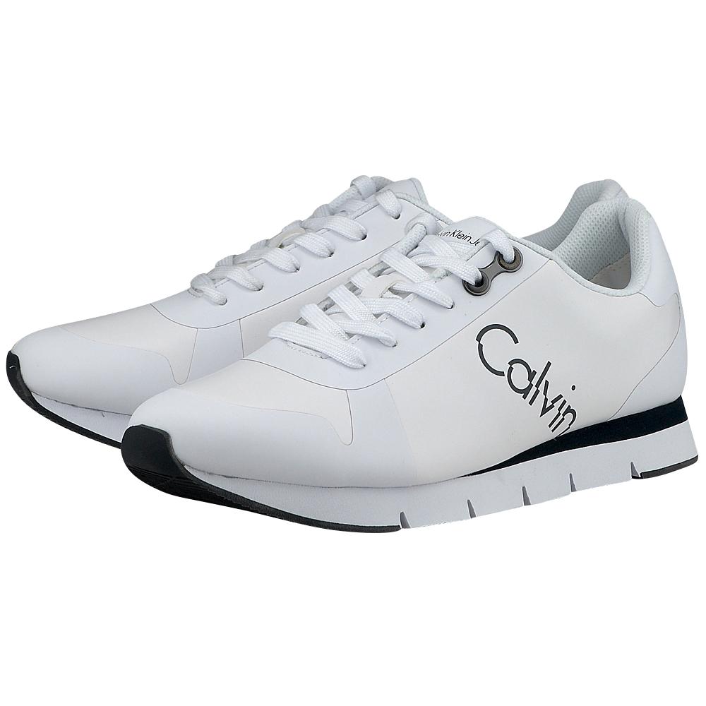 Calvin Klein - Calvin Klein Jacques S1674 - ΛΕΥΚΟ