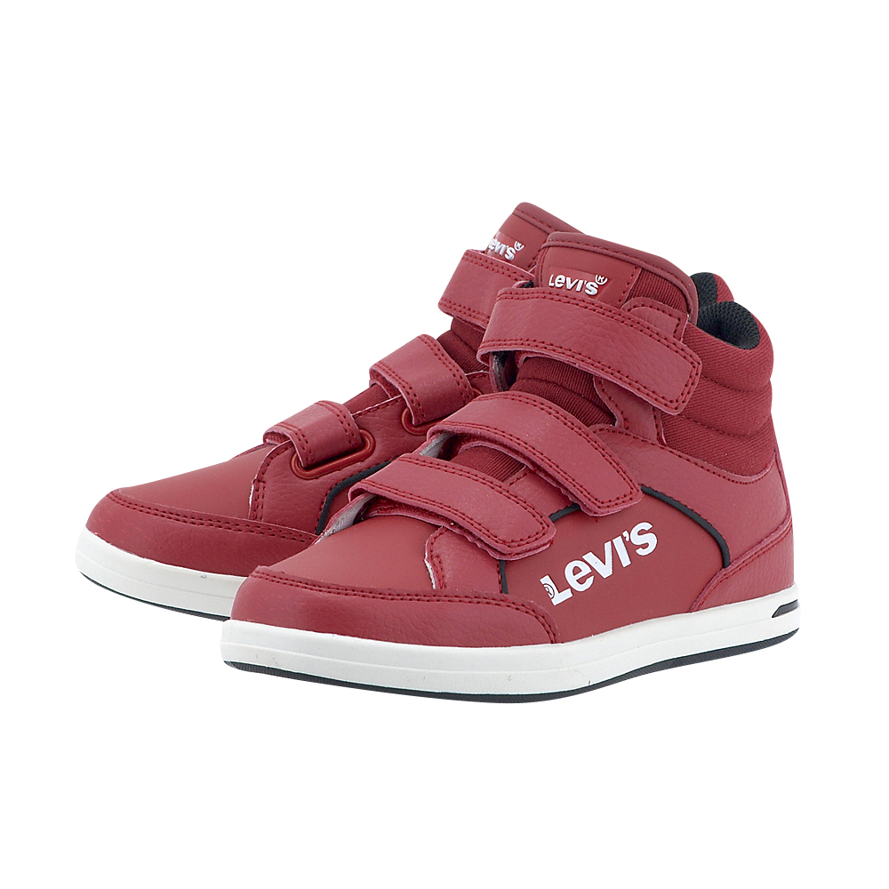 Levis - Levis Chicago Hi Top PJPL1205S - ΚΟΚΚΙΝΟ