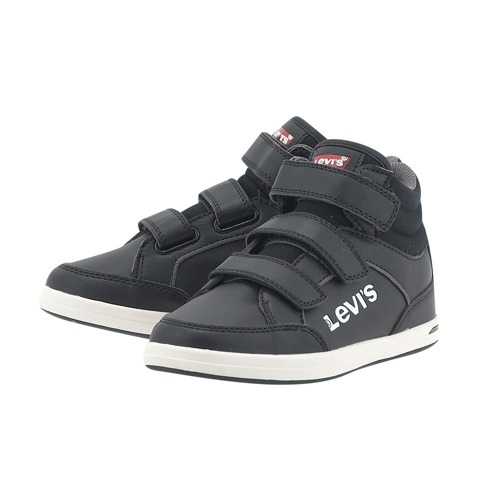 Levis - Levis Chicago Hi Top PJPL1205S - ΜΑΥΡΟ