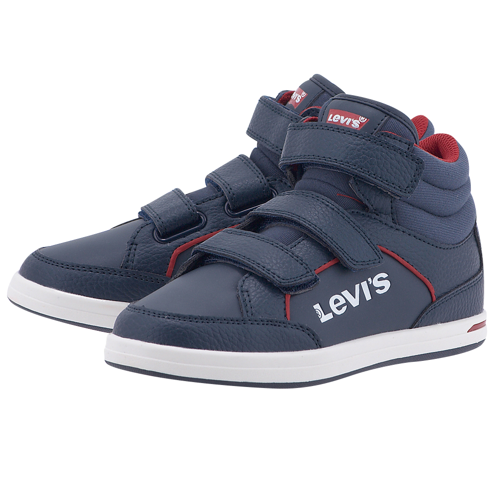 Levis - Levis Chicago Hi Top PJPL1205S - ΜΠΛΕ ΣΚΟΥΡΟ