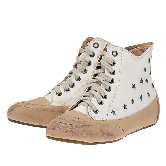 Seven - Seven SE4133-32 - ΛΕΥΚΟ outlet   γυναικεια   sneakers   mid cut