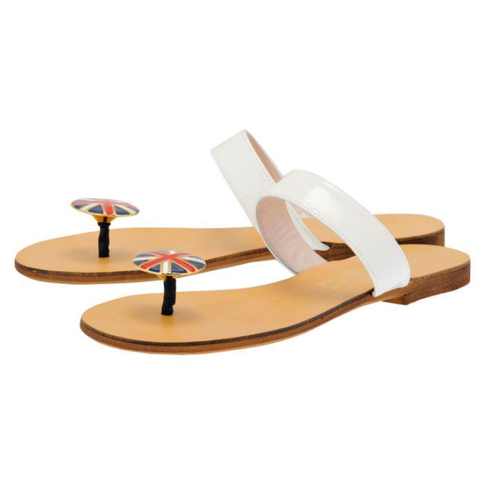 S. Piero - S. Piero SP3213 - ΛΕΥΚΟ outlet   γυναικεια   σανδάλια