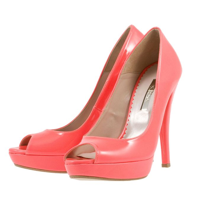 S. Piero - S. Piero SP5021 - ΦΟΥΞΙΑ outlet   γυναικεια   γόβες   peep toe