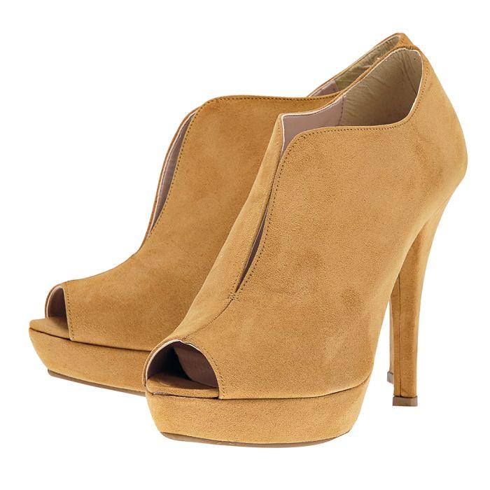 Stefania - Stefania ST1250_SUE. - ΚΑΜΕΛ outlet   γυναικεια   μποτάκια   dress