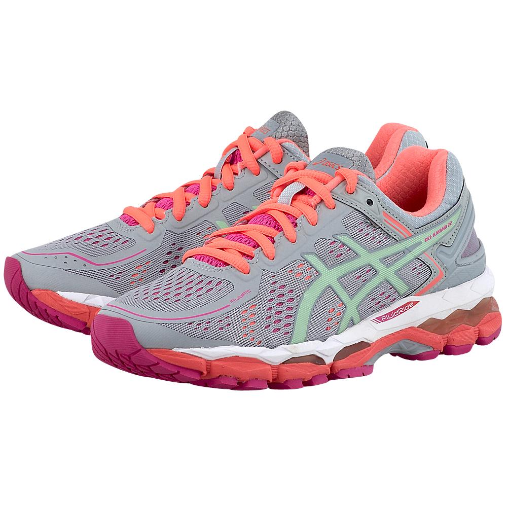Asics - Asics Gel Kayano 22 T597N1087 - ΓΚΡΙ γυναικεια   αθλητικά   training