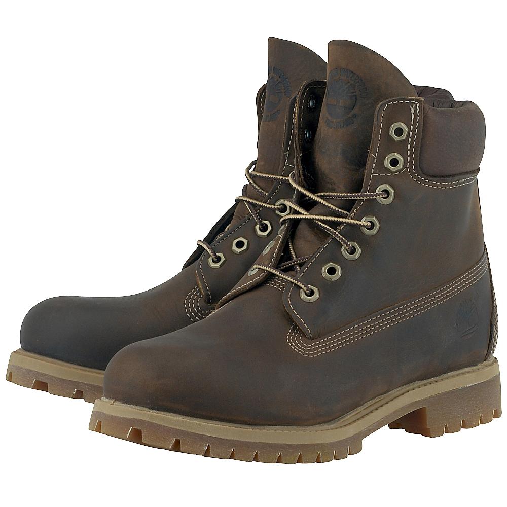 Timberland – Timberland Premium Waterproof Boot TIM27097-4 – ΚΑΦΕ ΣΚΟΥΡΟ