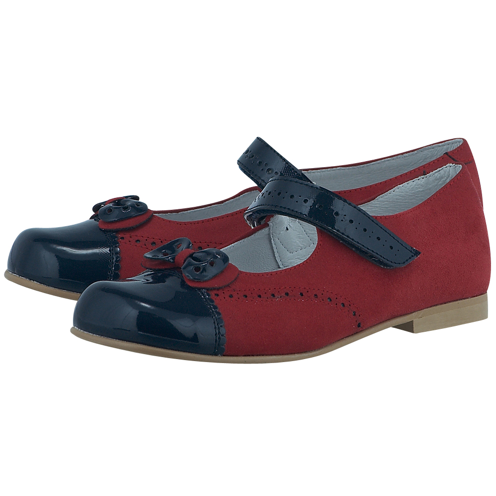Tinny Shoes - Tinny Shoes TNY10163 - ΚΟΚΚΙΝΟ/ΜΠΛΕ