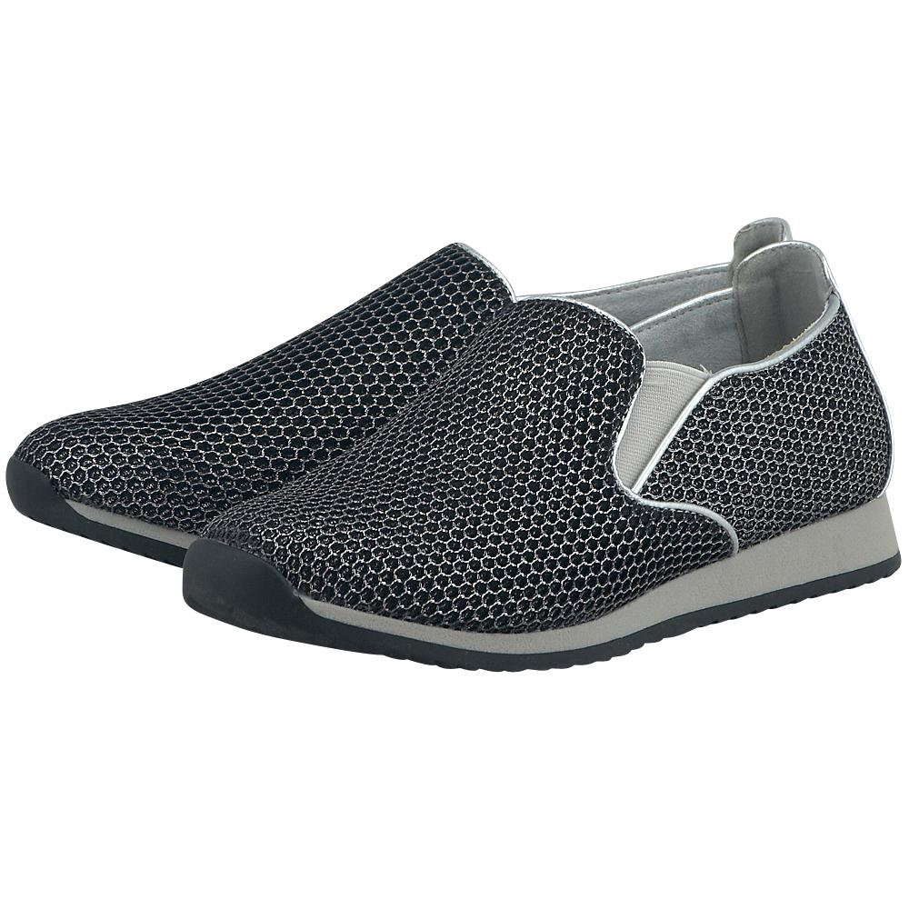 Marco Tozzi - Marco Tozzi WEN24606-26. - ΜΑΥΡΟ outlet   γυναικεια   sneakers   low cut