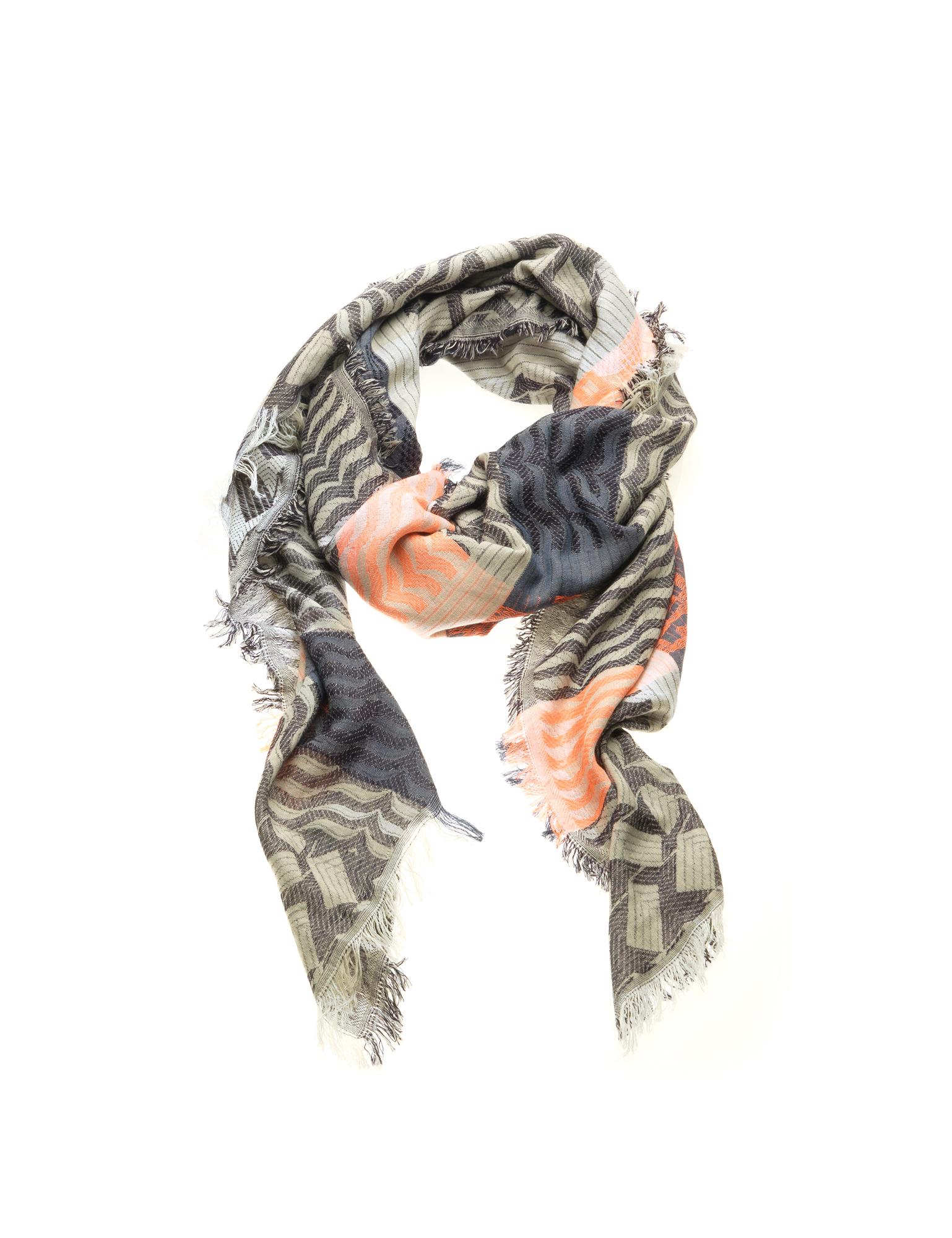 BLACK COLOUR - KAIRO ΦΟΥΛΑΡΙ ΓΥΝΑΙΚΕΙΟ ΣΕ ΜΠΛΕ CORAL ΧΡΩΜΑ - Multicolour