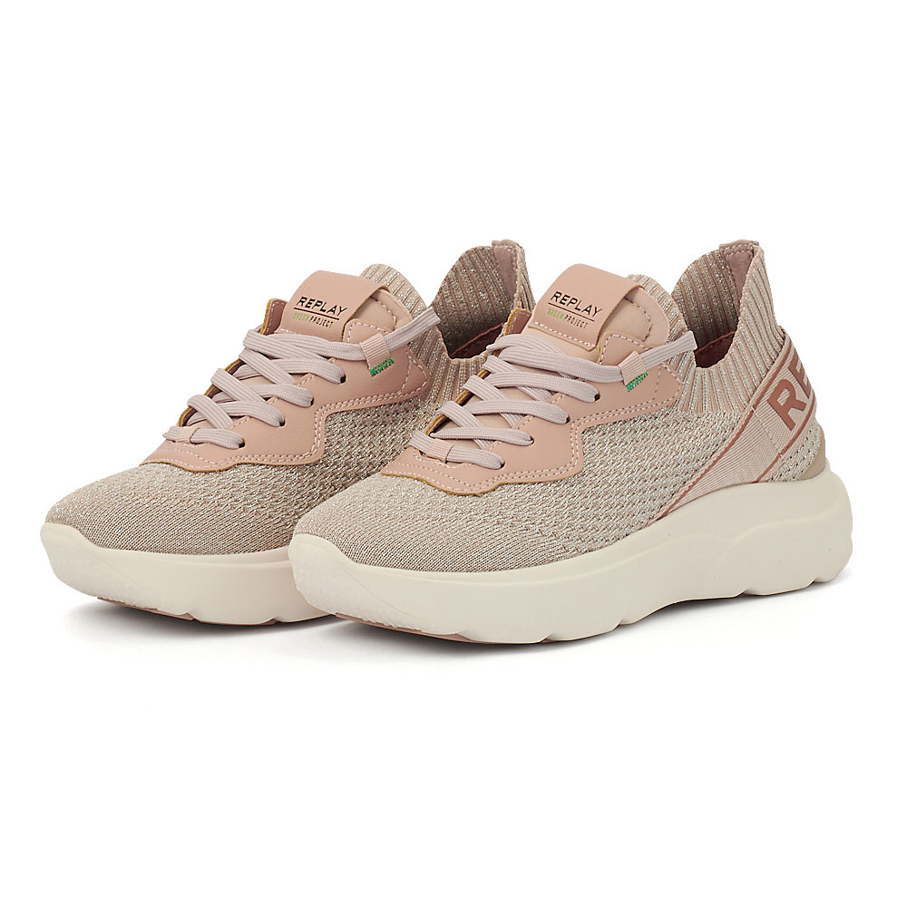 Replay - Sneakers - WHITE/GOLD