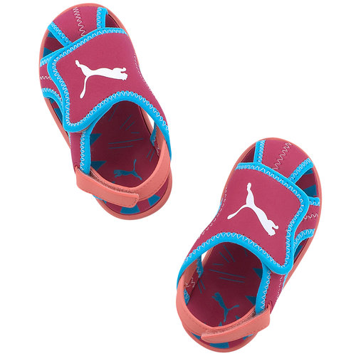 Puma Summer Sandal Kids - Πέδιλα - ΦΟΥΞΙΑ