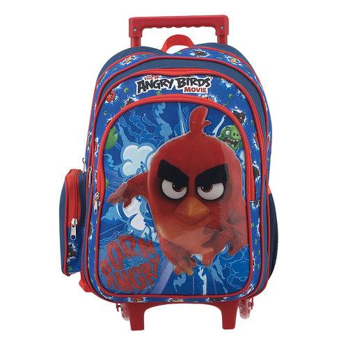 Paxos Angry Birds - Σχολικές Τσάντες - ΜΠΛΕ/ΚΟΚΚΙΝΟ