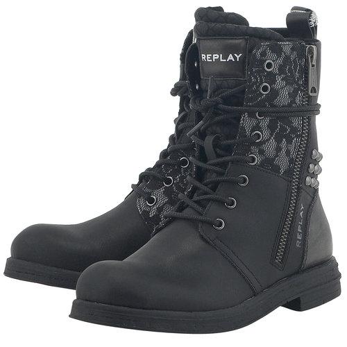 Replay - Μπότες - ΜΑΥΡΟ