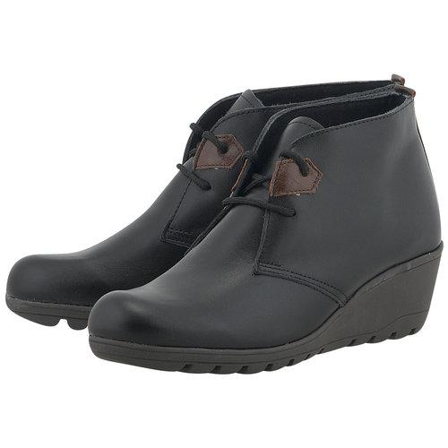 Adam's Shoes - Μποτάκια - ΜΑΥΡΟ