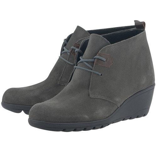Adam's Shoes - Μποτάκια - ΓΚΡΙ ΣΚΟΥΡΟ