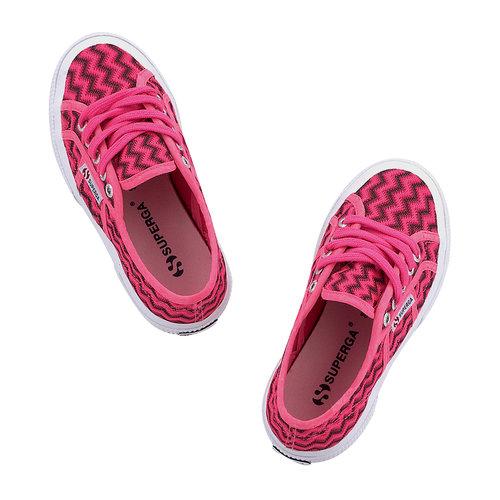 Superga Zigzag - Sneakers - ΦΟΥΞΙΑ