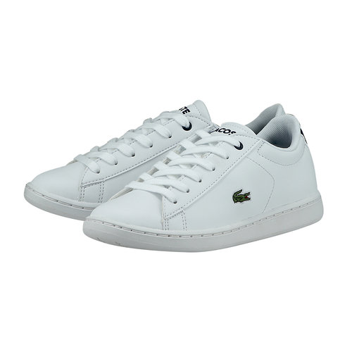 Lacoste Carnaby Evo - Casual - ΛΕΥΚΟ