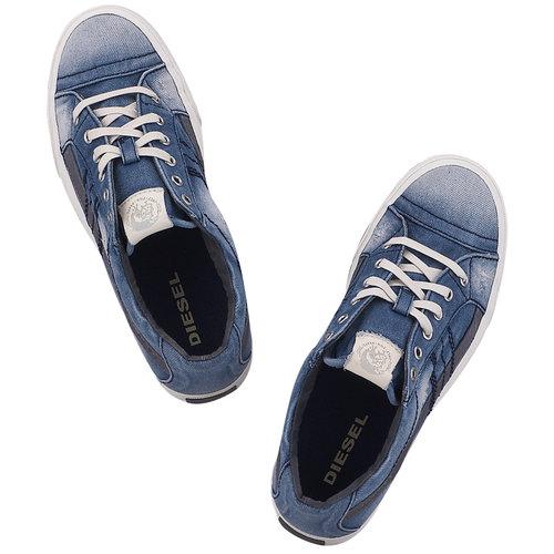 Diesel D-String Low - Sneakers - ΜΠΛΕ/ΤΖΙΝ