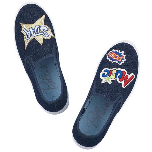 Blink - Sneakers - ΜΠΛΕ ΣΚΟΥΡΟ