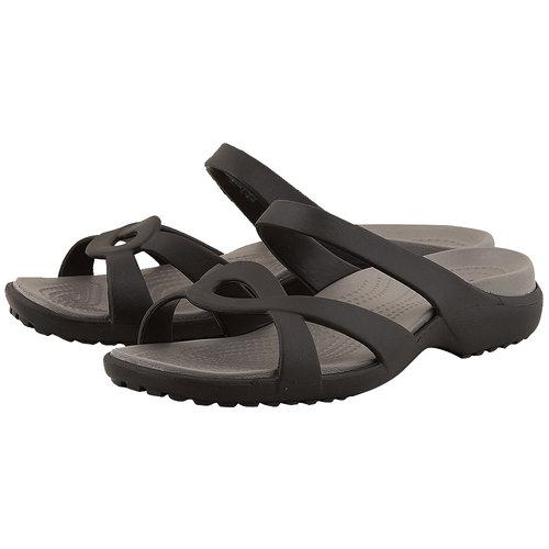 Crocs Meleen Twist Sandal - Σαγιονάρες - ΜΑΥΡΟ