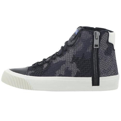 Diesel Zip-Turf S-Quest Knit - Sneakers - ΜΑΥΡΟ